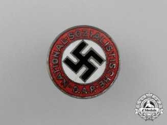 An Early Type NSDAP Membership Badge; Small Version by Hoffstätter Bonn