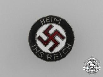 A NSDAP Third Reich Annexation Welcoming Badge