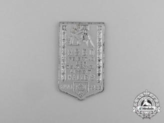 "A 1933 NSBO Halle ""Celebration of German Labour"" Badge"