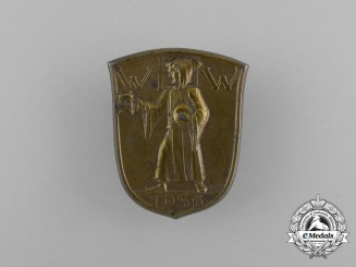 A 1936 WHW (Winter Relief of the German People) Donation Badge