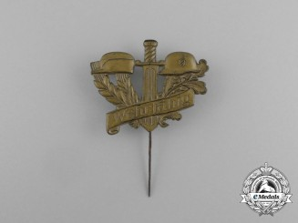 """A Second War German """"Werfähig"""" (Fit For Military Service) Badge"""