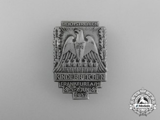 A 1937 Frankfurt Meeting of those with Children Badge