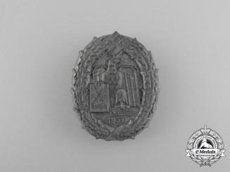 A 1937 Regional Week of Saxony Celebration Badge