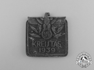 A 1939 Regional District Council Day Badge
