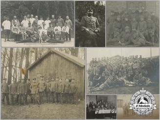 Ten First War German/Austrian Photographs and Picture Postcards