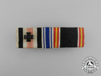 Germany, Luftwaffe. A Scarce Widows Spanish Next-of-Kin Ribbon Bar