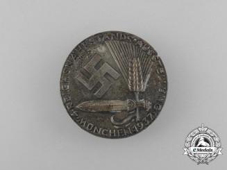 A 1937 Munich Reichsnährstand 4th Exhibition Badge by Deschler & Sohn