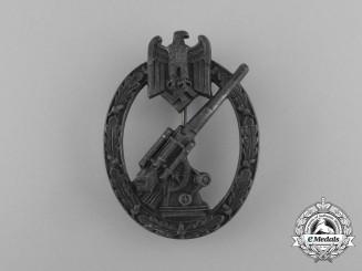 A Wehrmacht Heer (Army) Flak Badge by Steinhauer & Lück of Lüdenscheid