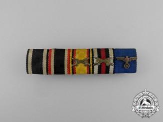 A First & Second War Reuss Ribbon Bar