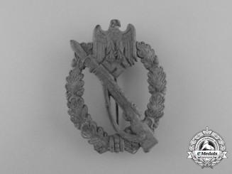 A Second War Silver Grade Infantry Assault Badge