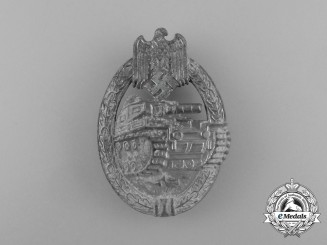 A Second War Silver Grade Tank Badge
