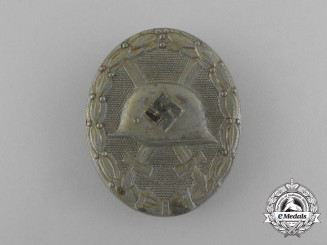 A Second War German Silver Grade Wound Badge by Karl Wild