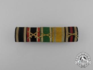 A First War Saxon Medal Ribbon Bar