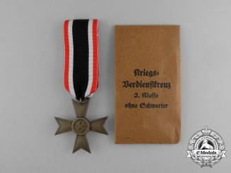 An Absolutely Mint War Merit Cross Second Class by Deschler & Sohn in its Original Packet