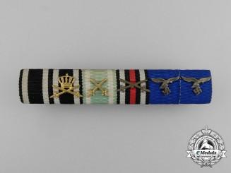 An Order of Hohenzollern, Albert Order, Luftwaffe Long Service Bar