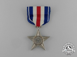 An American Silver Star; Numbered 64414