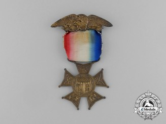 An American Civil War Union Army Veteran's Medal