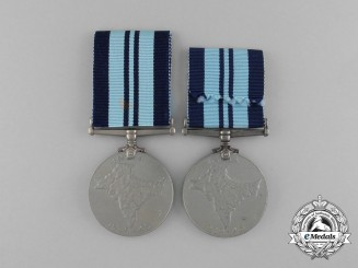 Two India Service Medals 1939-1945