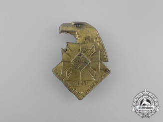 A 1935 District Langenzenn Gymnastics Festival Badge