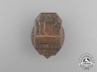 A 1934 Giebelstadt Theatre Festival Badge