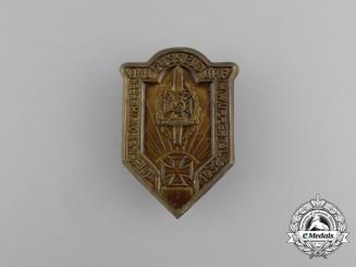 A 1934 NSKOV (National Socialist War Victim's Care) Düsseldorf Meeting Badge
