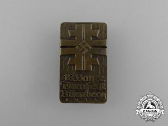 A 1934 18th Bavarian - Nürnberg Gymnastics Festival Badge by Christian Lauer