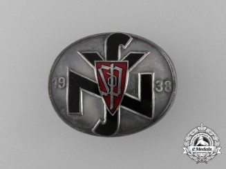 A 1938 Sudeten-German Party Supporters Badge