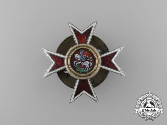 An Imperial Russian Chuguev Military School Badge