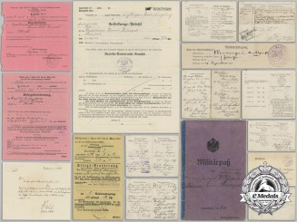 A Collection of Documents to Judge and Imperial Soldier Bruno Rumpel