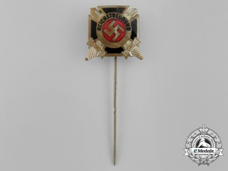 A Third Reich Period German Veteran's Organization Membership Stick Pin
