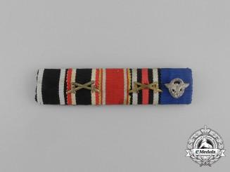 A 25 Year NSDAP Long Service Ribbon Bar