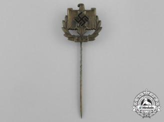 A 1938 NSRL NSRL Achievement Award Stick Pin; Gold Grade