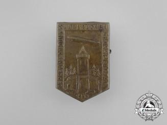 A 1933 Landing of the Zeppelin in Saarbrücken Event Badge