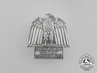 A 1935 NSDAP Kurmark-Guben Region Council Day Badge