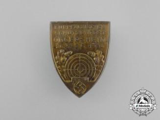 A 1934 Oggersheim Marksmanship Competition Badge
