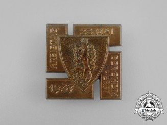 A 1937 NSDAP Bergheim an der Erft District Council Day Badge