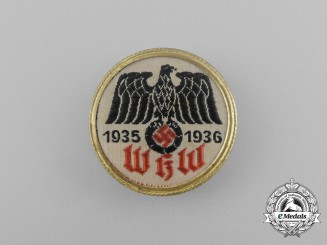 A 1935/1936 WHW (Winter Relief of the German People) Donation Badge