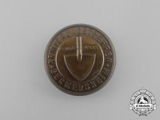 A 1935 RAD Reinforcement Germersheim Badge