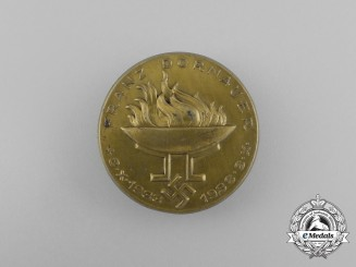 A 1938 Franz Dornauer 5-Year Anniversary Badge