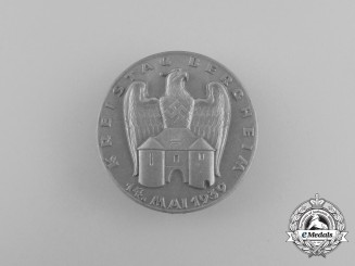 A 1939 NSDAP Bergheim District Council Day Badge by Richard Sieper & Söhne