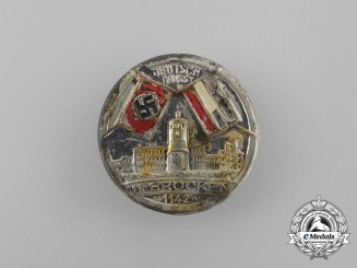 A Third Reich Period Germany Greets the Brocken Badge