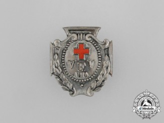 Germany, Imperial. A 1914 Patriotic Women of the Red Cross (VFW) Membership Badge