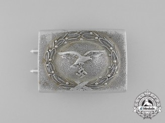 A Luftwaffe Enlisted Belt Buckle by Gustav Brehmer