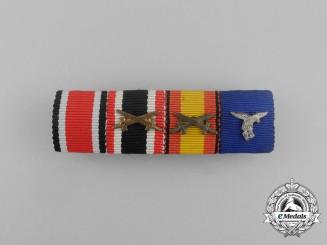 A Luftwaffe Spanish Civil War Condor Legion Ribbon Bar
