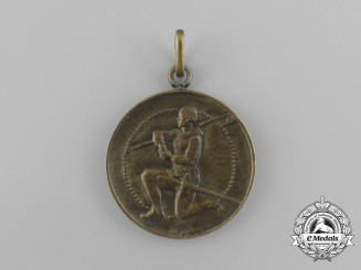 A 1939 Swiss 1st Division Under Arms Christmas Medal