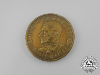 A 1933 A.H. Schicksalswende (Twist of Fate) Medal by the Official Mint of Bavaria