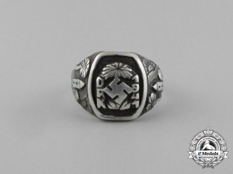 A Second War Wehrmacht Heer (Army) German Afrika Korps Ring