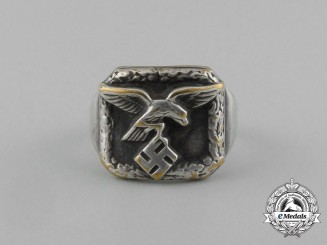 A Second War German Luftwaffe Condor Legion Ring