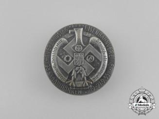 A 1935 Saarbrücken National Day of Railway Associations Badge