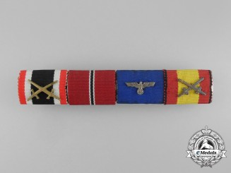 A Wehrmacht Heer (Army) Spanish Campaign Ribbon Bar